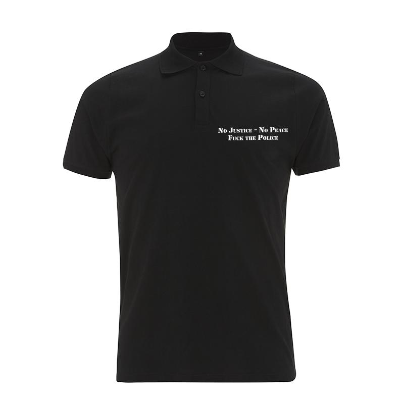 No Justice No Peace – Polo-Shirt N34