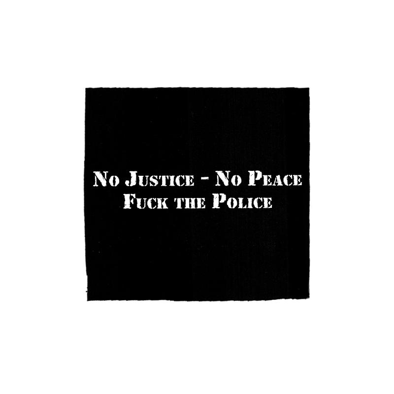 No Justice No Peace – Aufnäher