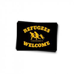 Refugees Welcome - Aufkleber