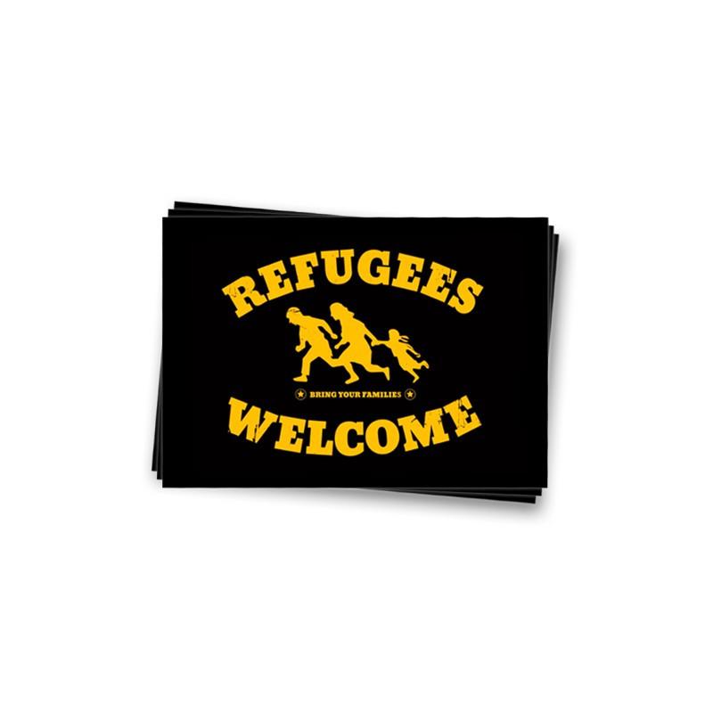 Refugees Welcome Aufkleber