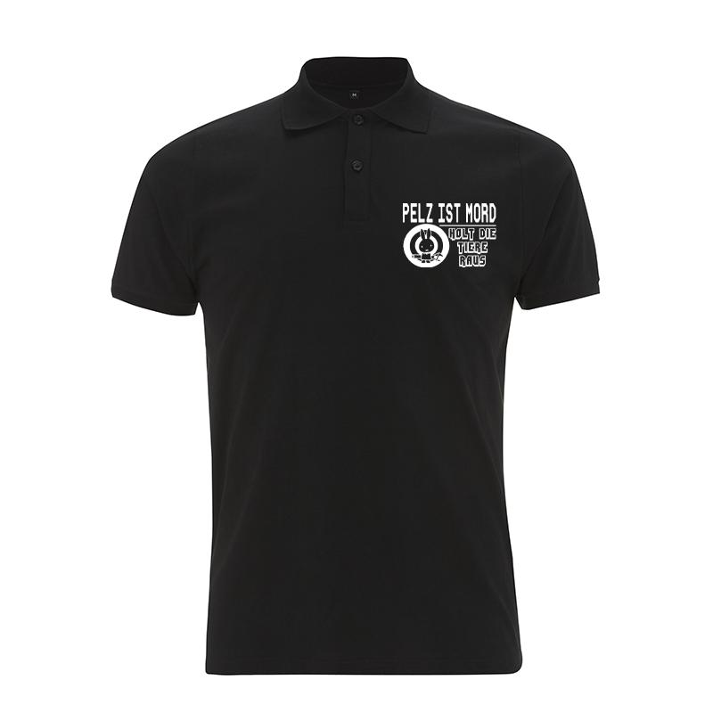 Pelz ist Mord – Polo-Shirt  N34