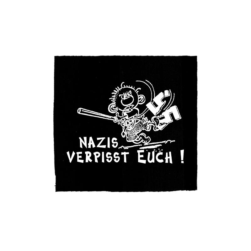 Nazis verpisst euch – Aufnäher