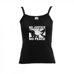 No Justice No Peace- Junge – Women's Tank-Top FotL