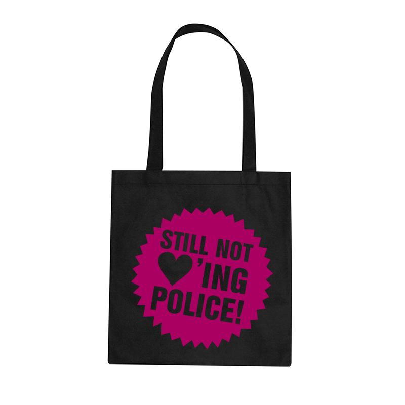 Still not loving Police – Stoffbeutel