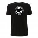 Antifaschistische Aktion- schwarz/schwarz – T-Shirt N03