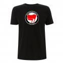 Antifaschistische Aktion - rot/rot – T-Shirt N03