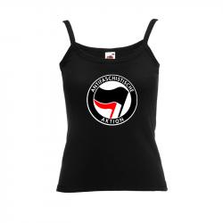 Antifaschistische Aktion - schwarz/rot – Women's Tank-Top FotL