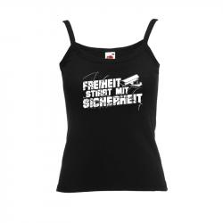 Freiheit stirbt mit Sicherheit – Women's Tank-Top FotL