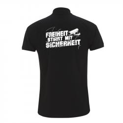 Freiheit stirbt mit Sicherheit – Polo-Shirt  N34