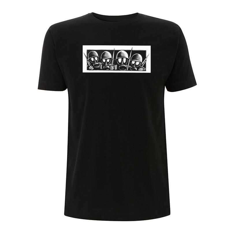 Drooker - Gasmasks – T-Shirt N03
