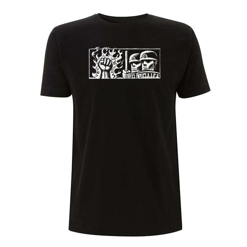 Drooker - Copsfist – T-Shirt N03