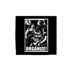 Organize – Aufnäher