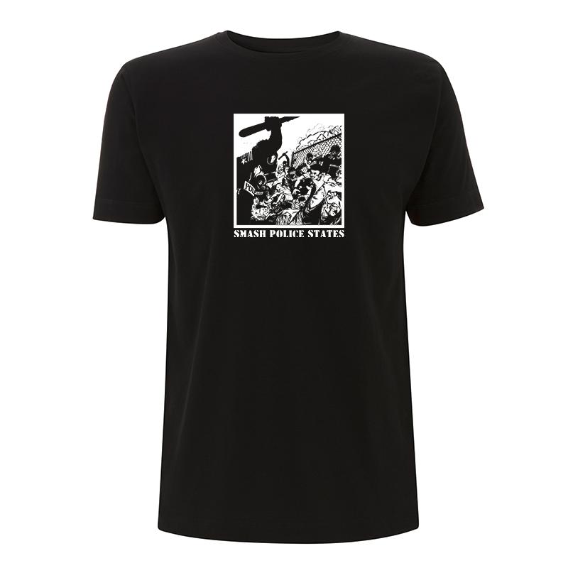 Smash Police States – T-Shirt N03