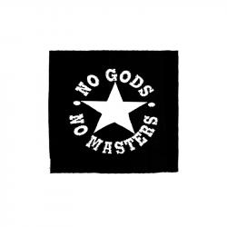 No Gods No Masters – Aufnäher