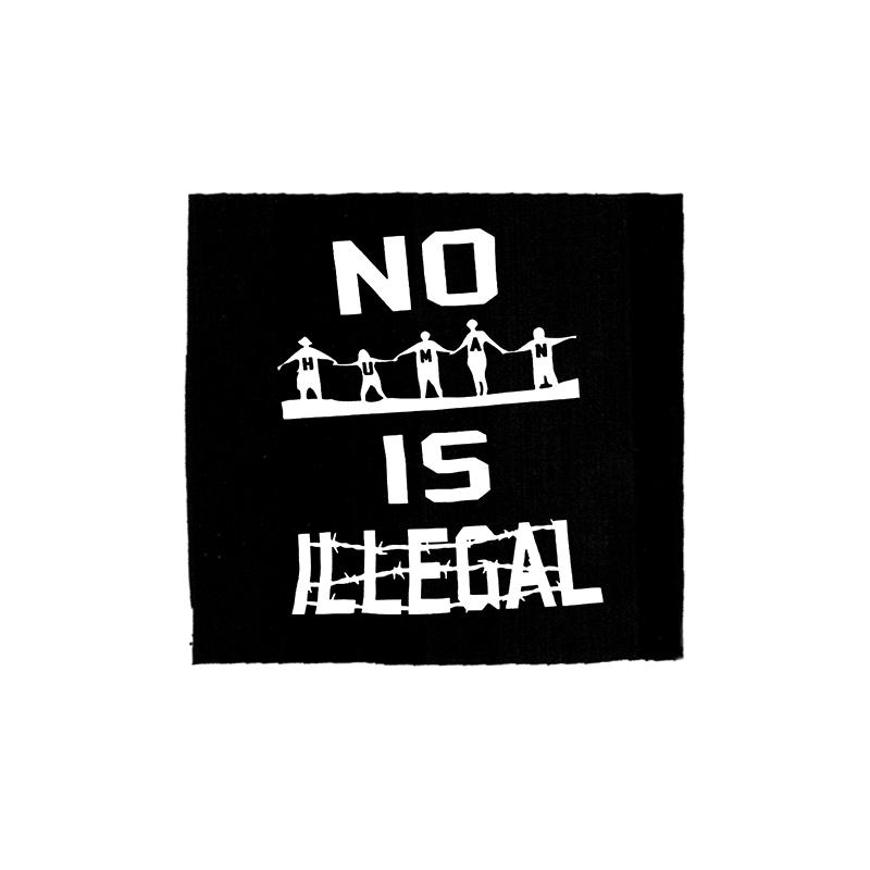 no human is illegal – Aufnäher
