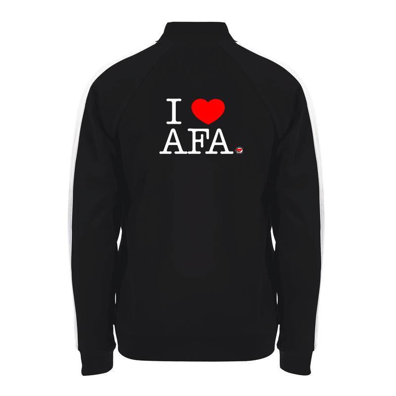 I love AFA – Trainingsjacke – Sonar