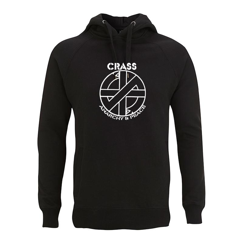 Crass - Fight War – Kapuzenpullover N50P