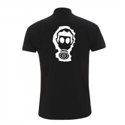 Gasmaske – Polo-Shirt N34