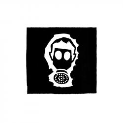 Gasmaske – Aufnäher