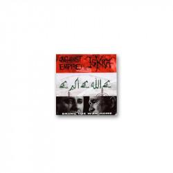 AGAINST EMPIRE / ISKRA - Bring the war home - Split CD
