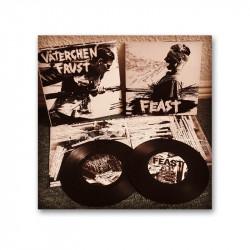 "VÄTERCHEN FRUST / Feast -  Split 7"""