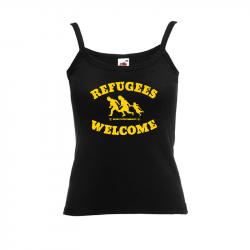 Refugees Welcome – Women's Tank-Top FotL