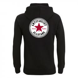 Antifascist Allstars - Red Star - Kapuzenpullover N50P