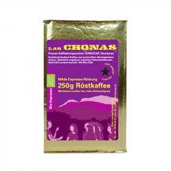 """Bio-Espresso """"Las Chonas"""" - 250g gemahlen"""