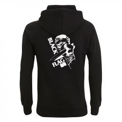 Black Flag Clown - Kapuzenpullover N50P