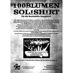 100 Blumen Soli - T-Shirt N03