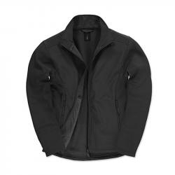 Softshell Jacke - schwarz