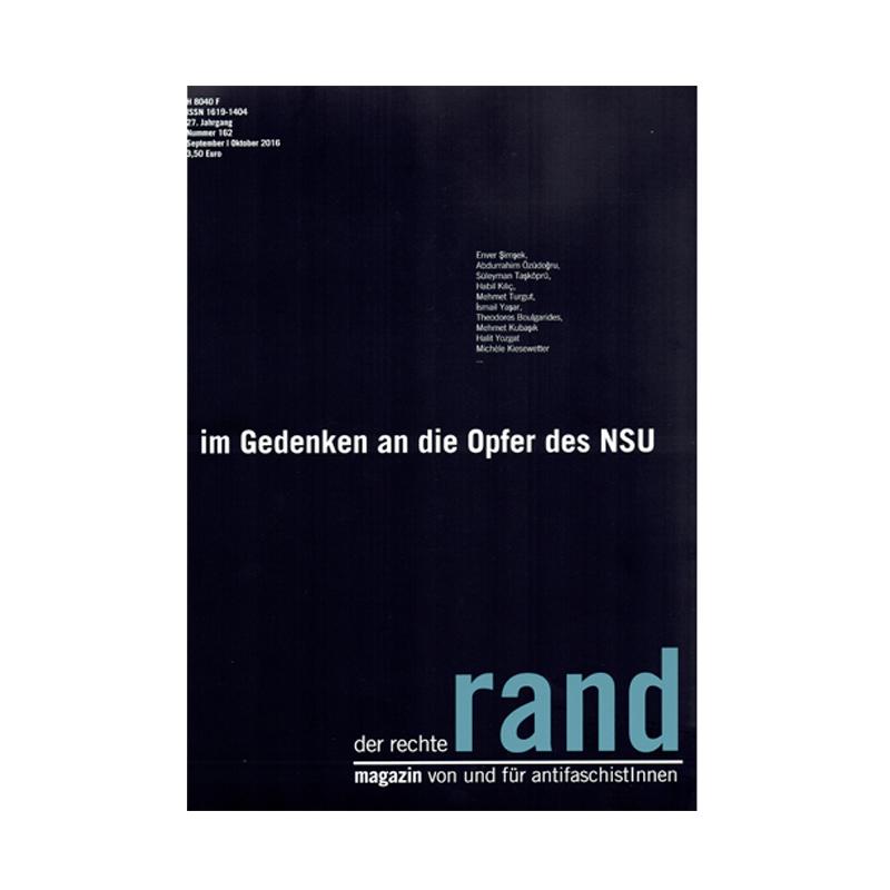 Der Rechte Rand - September / Oktober 2016