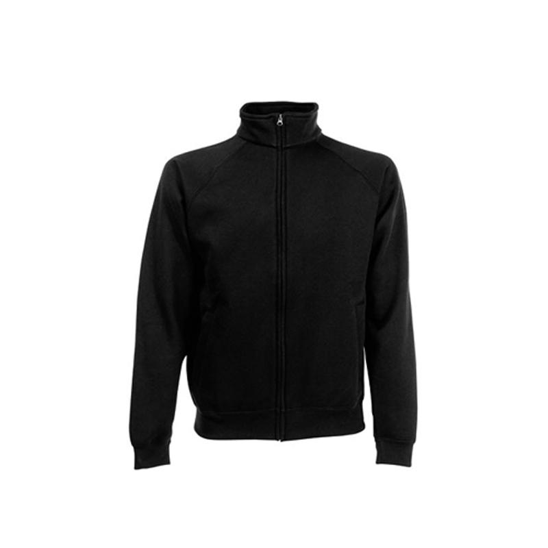 Sweat Jacket - schwarz - FotL