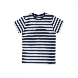 Stripy T-Shirt - Navy / White