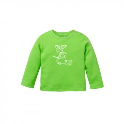 Kleine Hexe - Bio Baby Langarmshirt