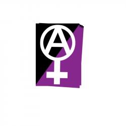 Anarchafem - Aufkleber - 30 Stück