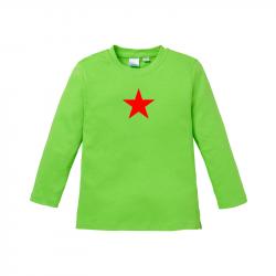 Star - Kids Langarmshirt