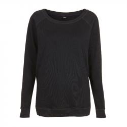 Women's Sweatshirt - schwarz - EarthPositive® EP66