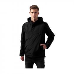 Padded Pull Over Jacket - schwarz - URBAN CLASSICS