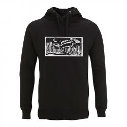 Drooker Echse – Kapuzenpullover N50P