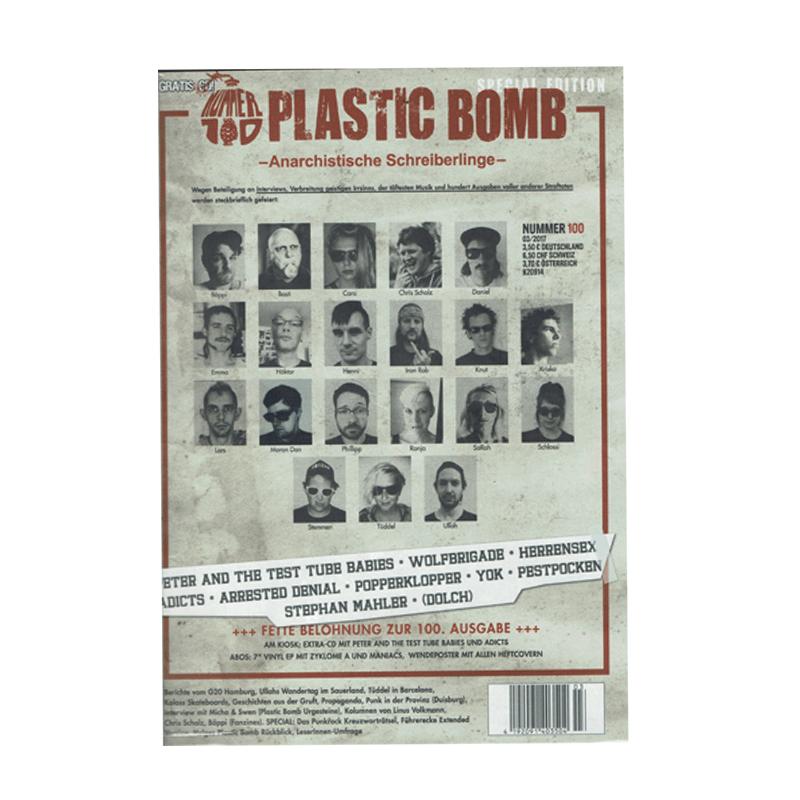 Plastic Bomb - Herbst 2017 + CD