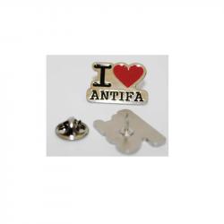 I love Antifa.  - Metal-Pin