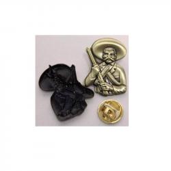Emiliano Zapata  - Metal-Pin 3D