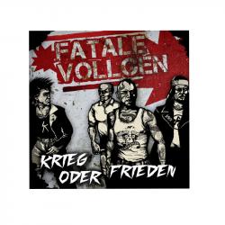 FATALE VOLLGEN - Krieg oder Frieden - LP