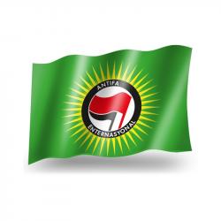 Antifa Enternasyonal -  Fahne