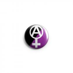 Anarchafem - Button