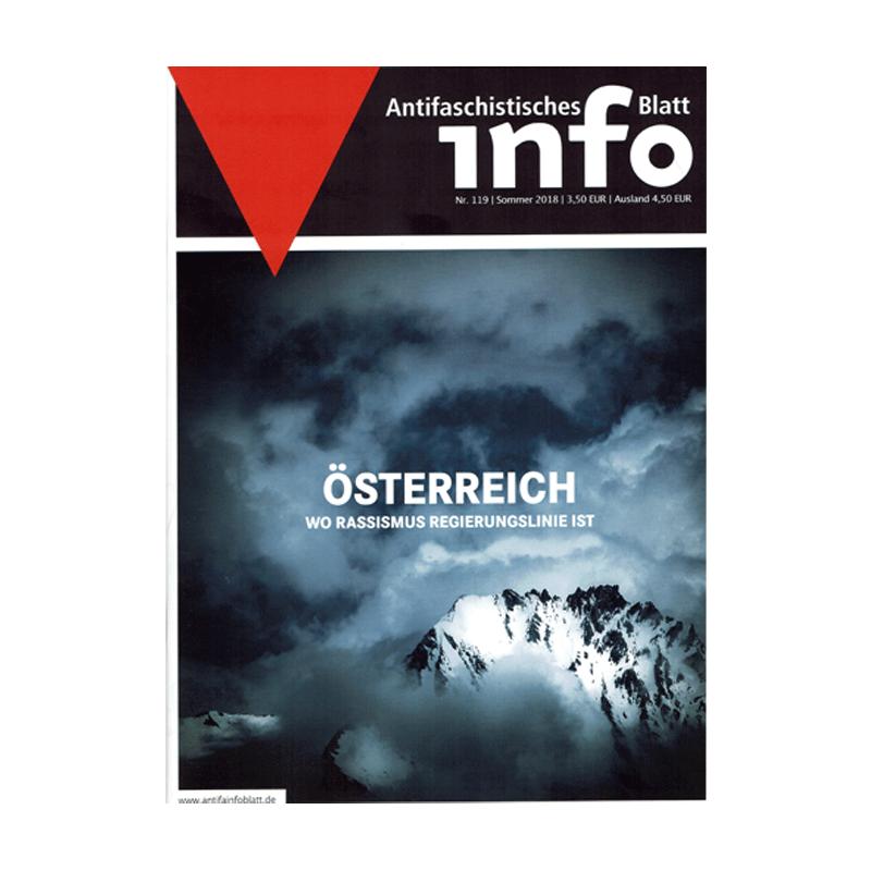 Antifaschistisches Infoblatt  (AIB) - Sommer 2018