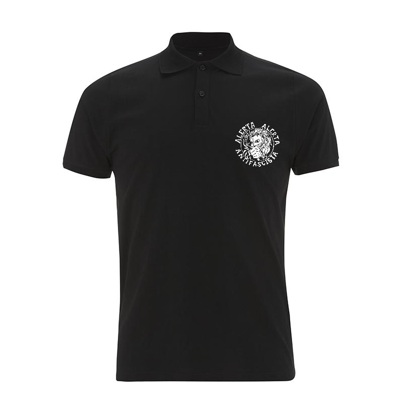 Alerta Alerta Antifascista – Polo-Shirt  N34
