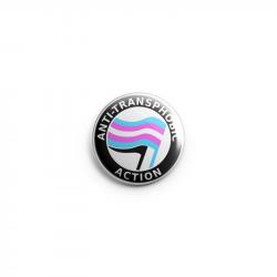 Anti-Transphobic Action - Button