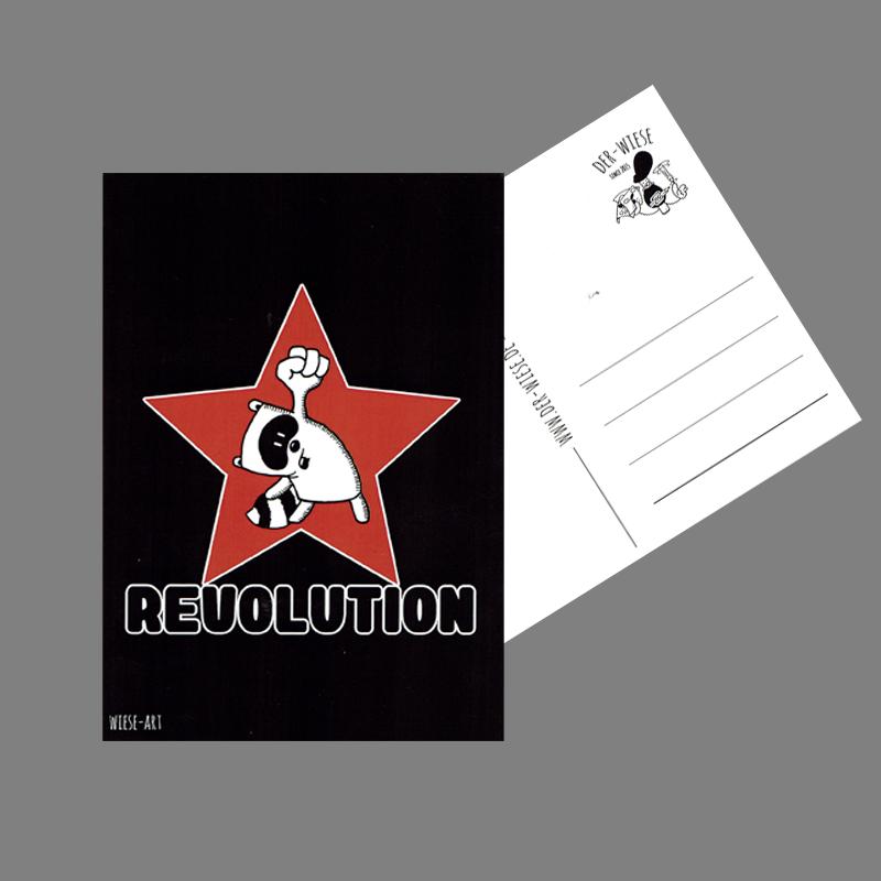 Revolution - Postkarte